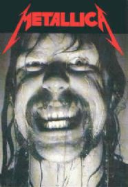 Metallica - 'James Wet Face' Postcard